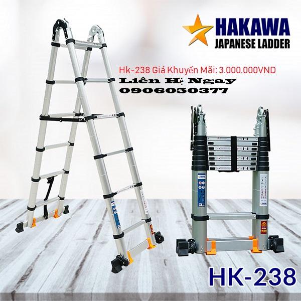 Thang nhôm hakawa HK-238