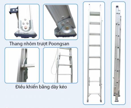 Thang nhôm trượt Poongsan PS-3120-2