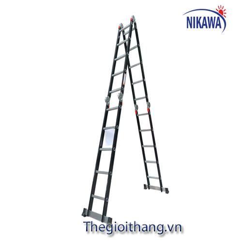 Thang nhôm gấp đoạn Nikawa NKG-45