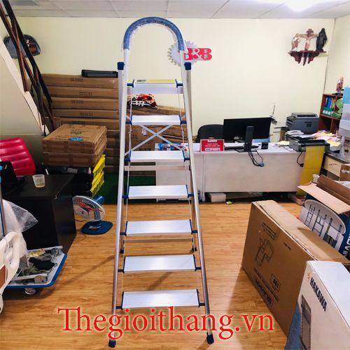 Thang nhôm ghế 7 bậc NIKITA DL07(1.7m)