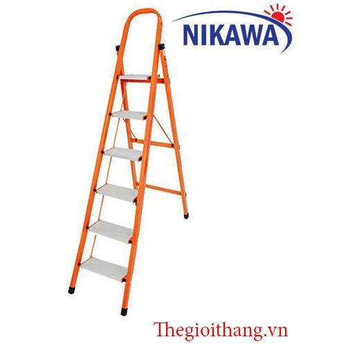 Thang Nhôm Ghế NIKAWA NKS-06 (6 Bậc)