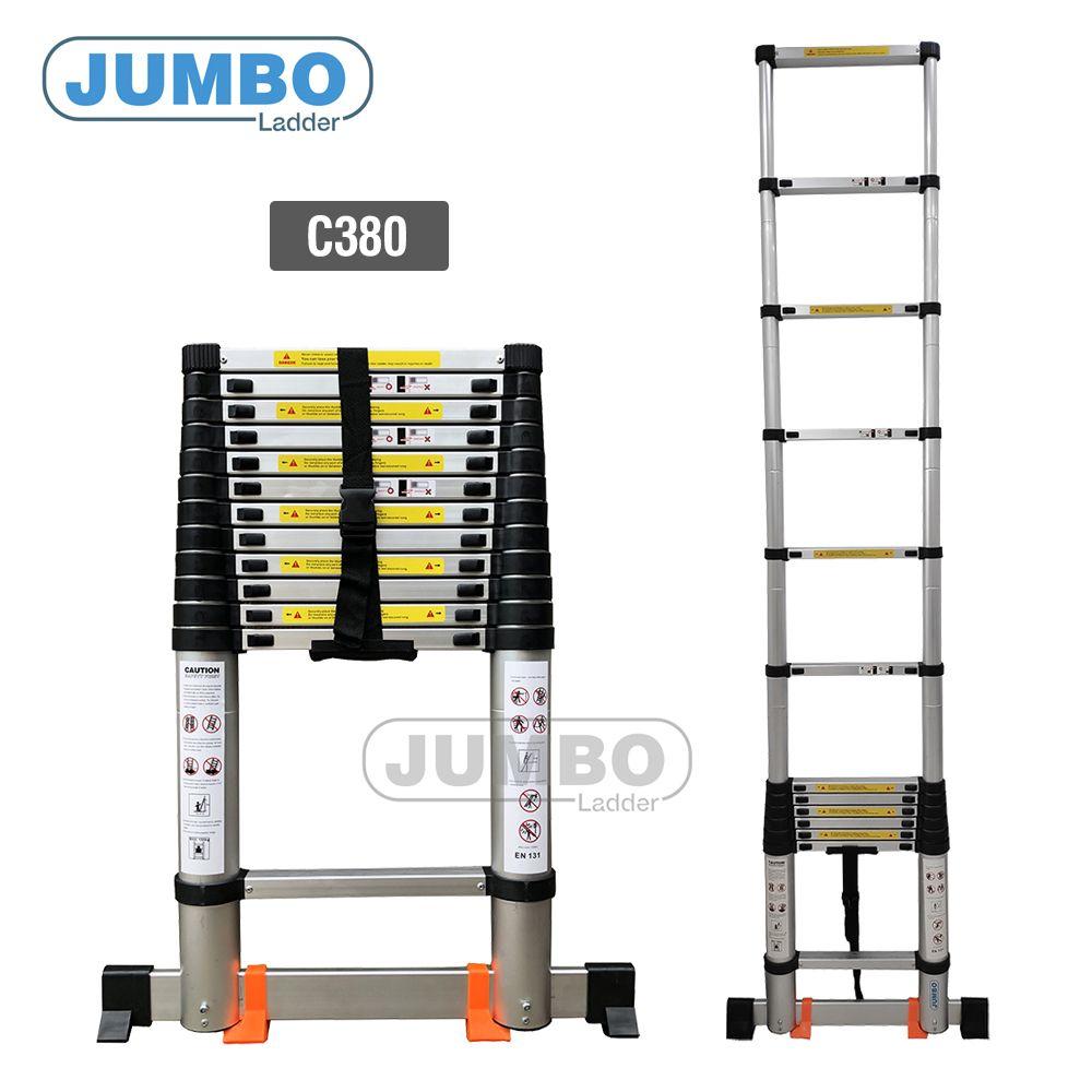 Thang rút nhôm cao cấp Jumbo C380