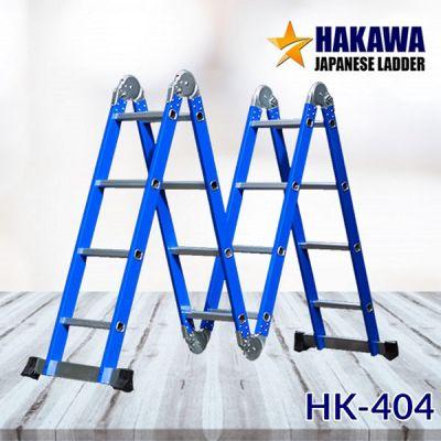 Thang nhôm gấp HAKAWA HK 404