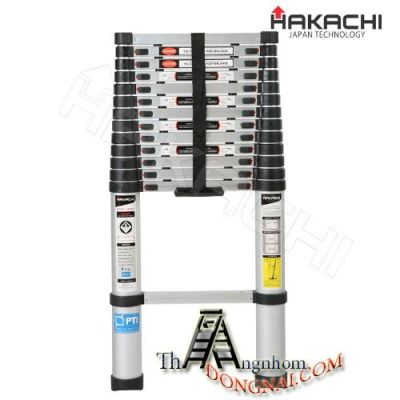 Thang nhôm rút đơn cao 5.8m Hakachi HT-580Cp