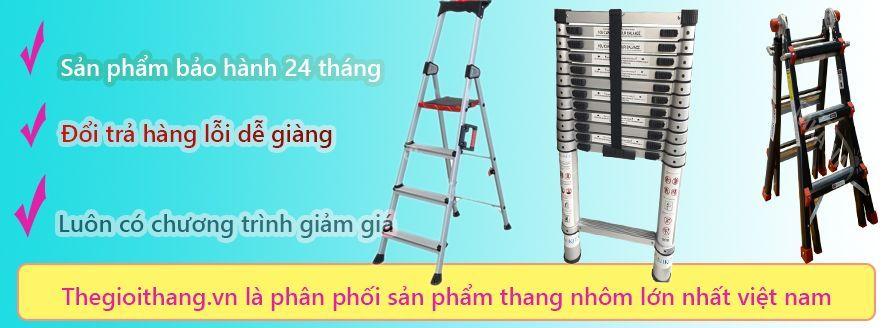 Thang nhôm rút nhập khẩuchính hãng giá tốt nhất thị trường hiện nay