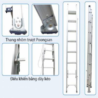 Thang nhôm trượt Poongsan PS-3080-2